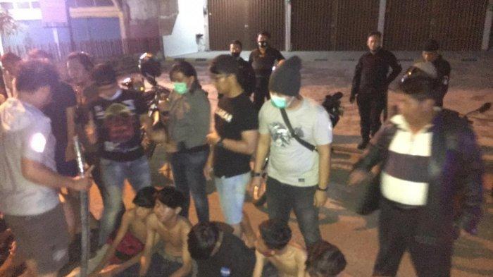 Polisi amankan geng motor di Kota Jambi, Jumat (6/11/2020)