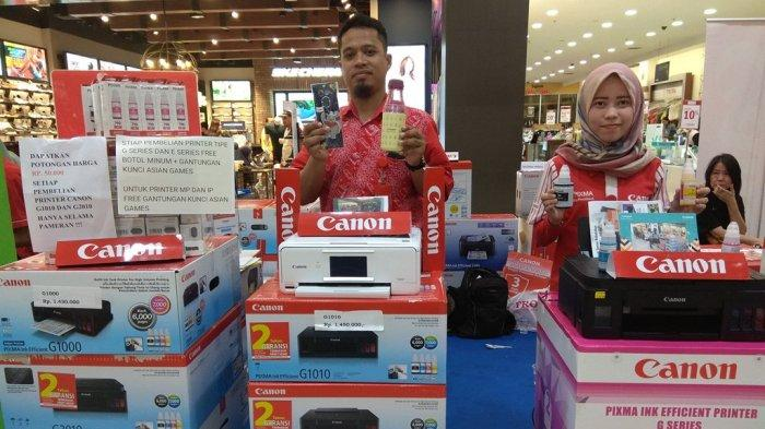 Beli Printer Canon, Eleven Computer Berikan Hadiah Maskot Asian Games 2018