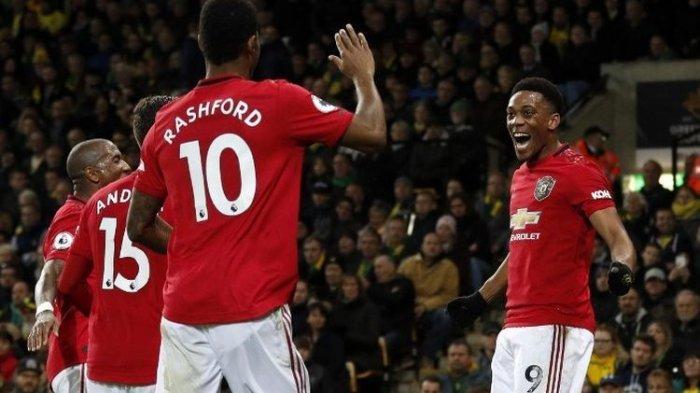 Hasil dan Klasemen Liga Inggris Malam Tadi, Liverpool Makin Perkasa, Man United Pecundangi Man City