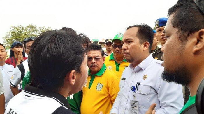 Laga Gubernur Cup 2020, Kota Jambi Ditahan Imbang PS Tanjab Barat, Putusan Wasit Jadi Kontroversi
