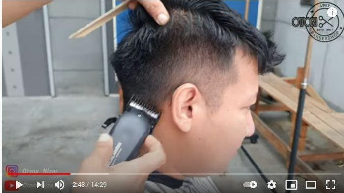 Tutorial potong rambut pria