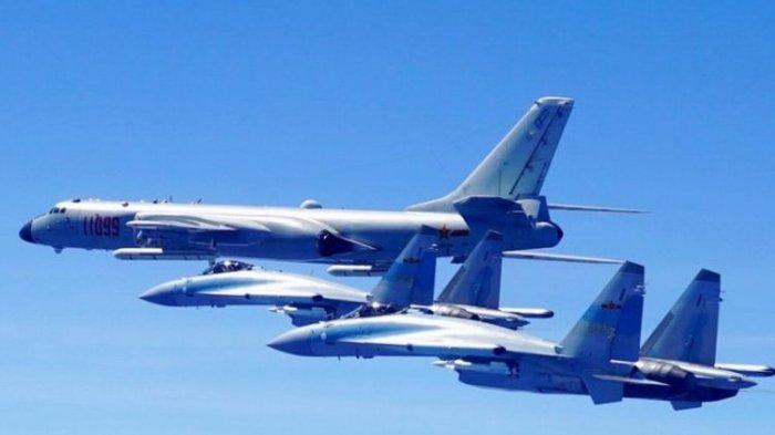 China Sungguh Mau Berperang Lawan Taiwan, 28 Jet Tempurnya Kembali Terobos Wilayah Udara Taiwan