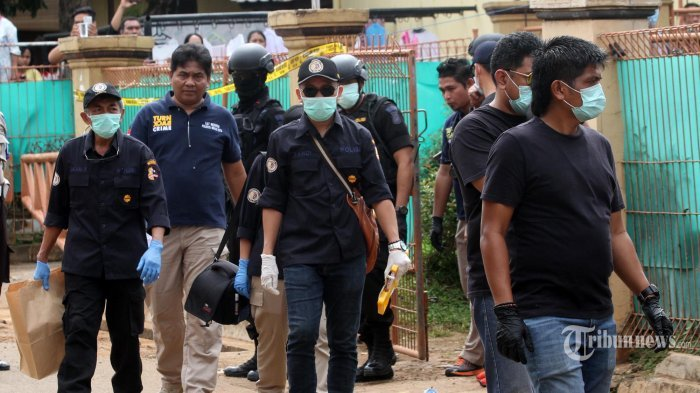 5 Terduga Teroris Sumatera Selatan Diduga Pelarian Dari Jambi