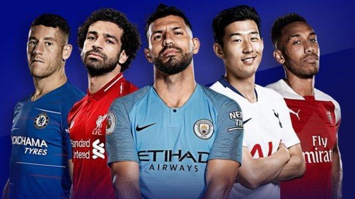 Daftar Resmi Nomor Punggung Pemain Liga Inggris, Arsenal, Liverpool Man Utd, Man City dan Tottenham