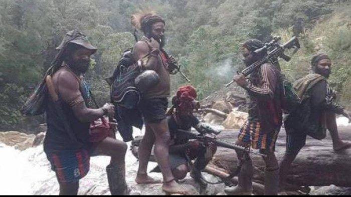 KKB Buat Ulah Lagi, Serang Rombongan TNI Bawa Logistik, 1 Anggota Kena Luka Tembak