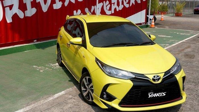 Tampilan depan Toyota New Yaris