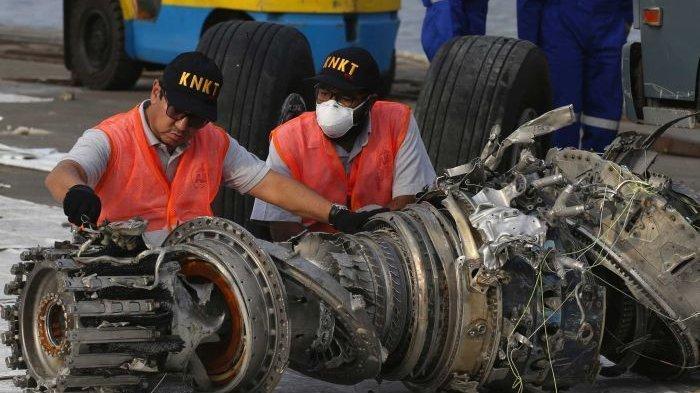 KNKT Temukan Fakta Mesin Pesawat Lion JT610 Masih Hidup dan Berputar Tinggi saat Menabrak Air Laut