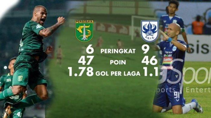 Live Streaming Persebaya Surabaya vs PSIS Semarang via Indosiar dan Vidio.com, Kick Off 15.30 WIB
