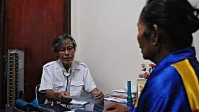 Dokter FX Soedanto Dokter Seribu Rupiah dari Papua 40 Tahun Mengabdi Ucapan Terima Kasihpun Diterima