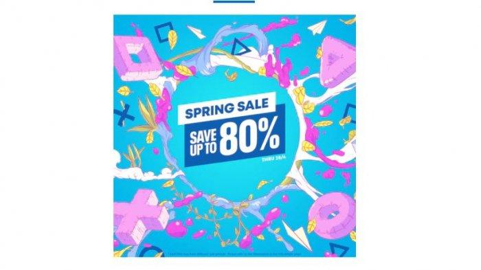 Spring Sale Sony 31 Maret-28 April 2021