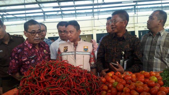 Tim Satgas Pangan Jambi Sidak ke Pasar Keramat Tinggi, Harga Bawang Putih Turun Rp 45 Ribu Sekilo