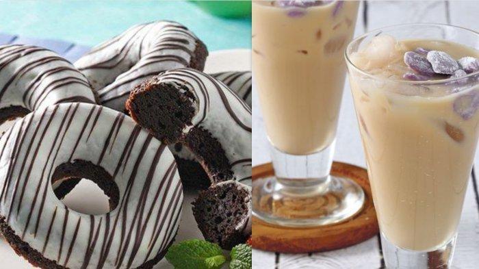 5 Resep Berbahan Ubi: Donat Brownies Ubi Merah, Dorayaki Ubi Keju, Teh Susu Bubble Ubi Ungu