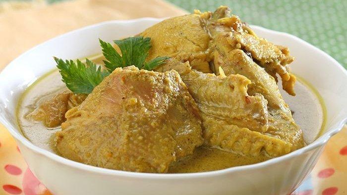 Resep Opor Ayam Bumbu Jinten