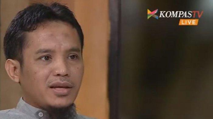 Ali Imron, saat menjadi narasumber di Acara Rosi yang ditayangkan Kompas TV, Kamis (8/6/2017) malam.