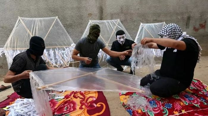 Teror Palestina untuk Israel, Hanya Berbekal Layang-layang, Apa Istimewanya Hingga Bikin Ketakutan?