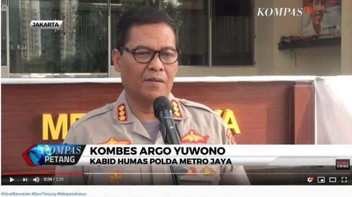 Kata Polisi Soal Laporan Rekayasa Penyiraman Air Keras Dewi Tanjung ke Novel Baswedan