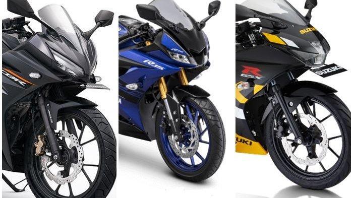 Diskon Motor Sport 150cc - Suzuki GSX Potongan Rp 3,5 Juta, Honda CBR150R, Yamaha R15