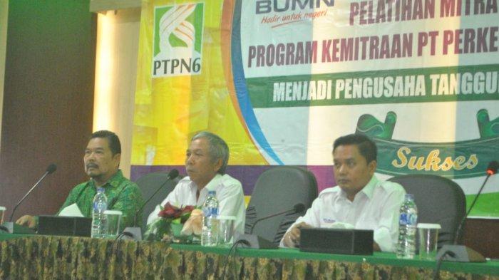 100 Pelaku Usaha Mitra Binaan Ikuti Pelatihan yang Digelar PTPN VI