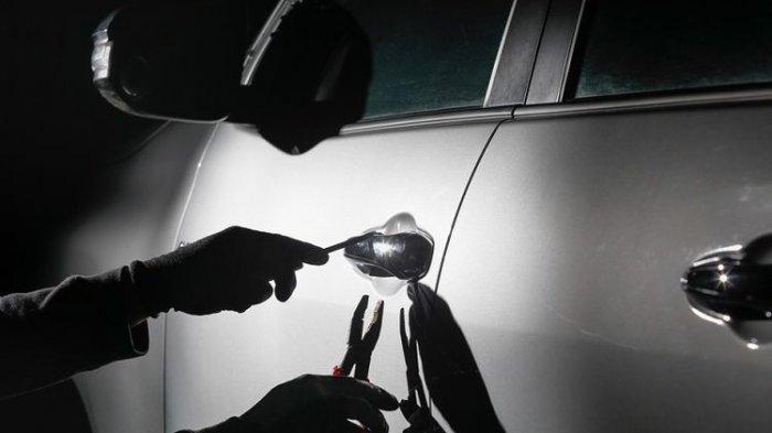 Dalam Hitungan Jam Mobil Terios yang Dicuri dari Garasi Ditemukan, Dua Pelaku Dihadiahi Timah Panas