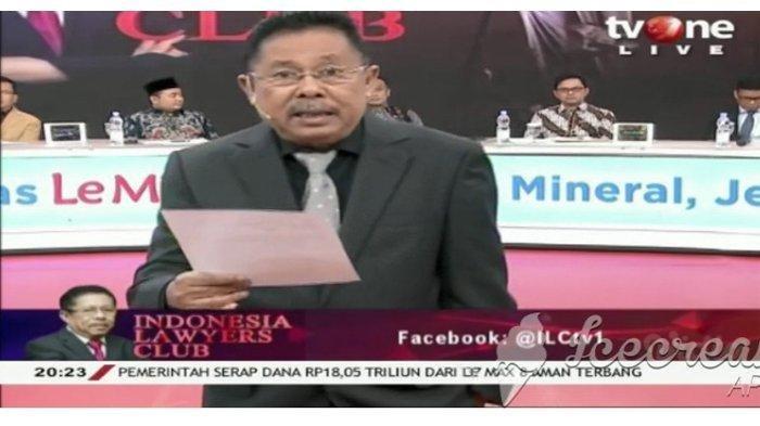Nonton Link Live Streaming ILC TV One Malam Ini, 10 November 2020, Tema Langsung Dipandu Karni Ilyas