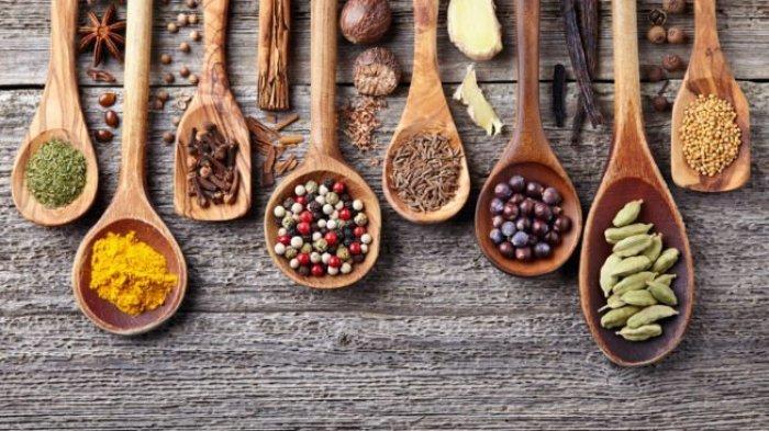 Ilustrasi bumbu alternatif penyedap makanan