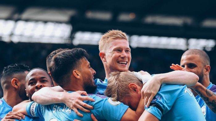 Hasil Pertandingan dan Klasemen Liga Inggris Malam Tadi, Liverpool Dibantai Manchester City
