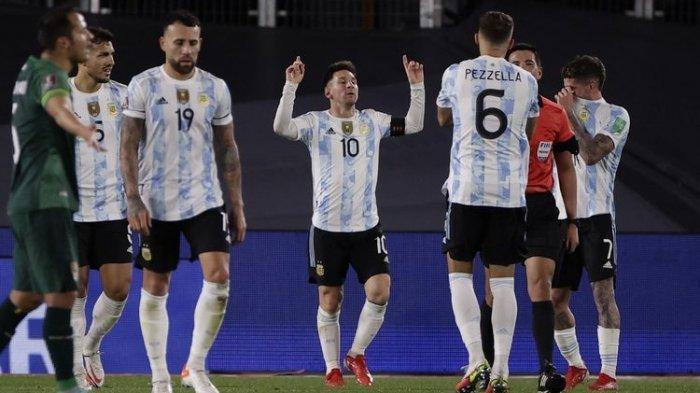 Hasil Pertandingan Argentina vs Bolivia, Hattrick Messi Lampaui Rekor Pele