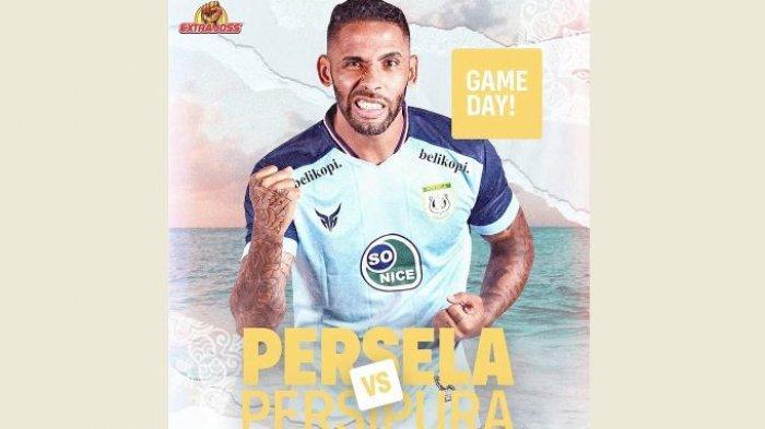 Jadwal Siaran Langsung BRI Liga I Sore Ini, Persela vs Persipura dan Persik vs Borneo FC