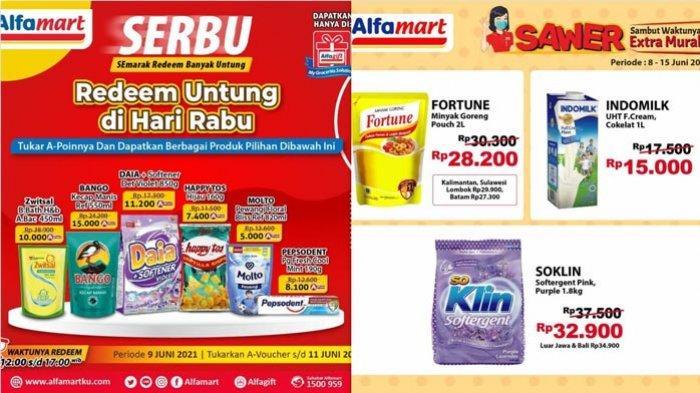 Promo Alfamart Hari Ini 10 Juni 2021 ShopeePay Murmer Promo Hajatan Gopay Promo Serba Sawer