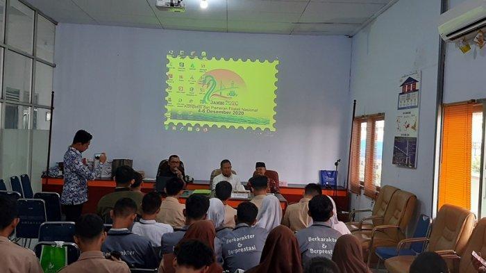 70 Siswa Ikuti Workshop Filateli Tingkat Pelajar se-Kota Jambi