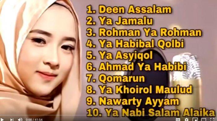 Download Lagu MP3 Sholawat Gambus Nissa Sabyan Terbaru