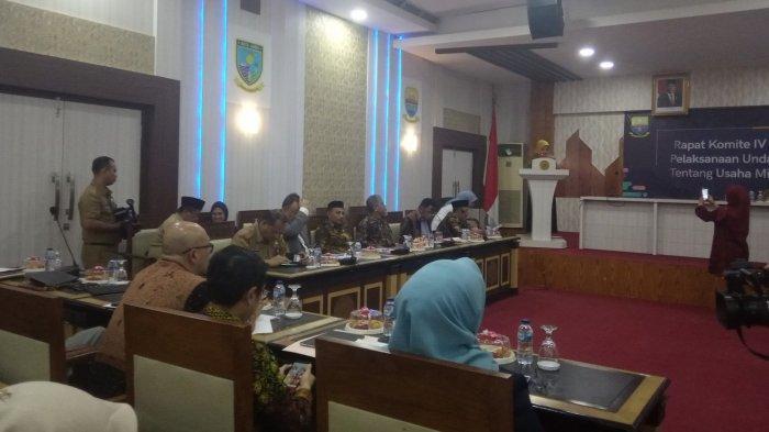 Bahas UMKM, Komite IV DPD RI Gelar Rapat Bersama Pemprov Jambi