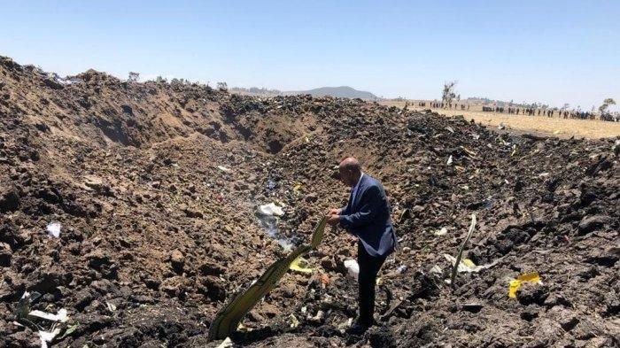 Seorang WNI Dikabarkan  Masuk Dalam Daftar Korban Jatuhnya Pesawat Ethiopian Airlines