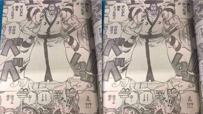 Spoiler One Piece chapter 1007
