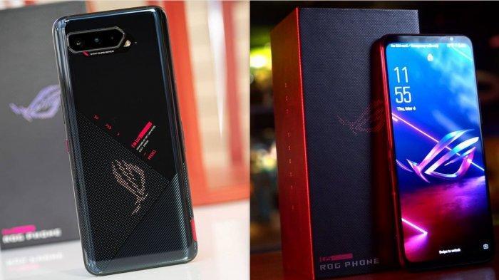 Spesifikasi dan Harga ASUS ROG Phone 5, HP Gaming Terbaik RAM Mulai 8GB, 12GB, 16GB