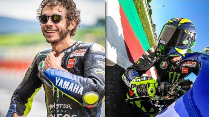 Velentino Rossi Positif Covid-19 Begini Kondisinya, Bakal Absen di MotoGP Terbaru