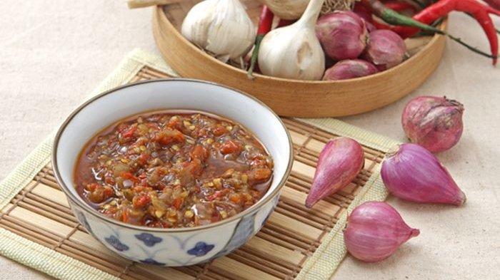 Ilustrasi sambal bawang