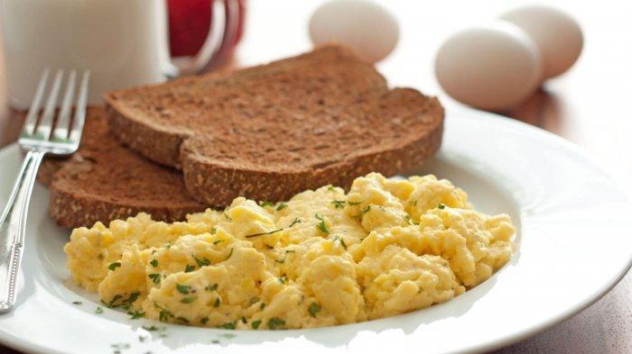 Bosan Sarapan Bubur Ayam atau Roti? Ini 7 Ide Menu Makan Pagi Ala Amerika, Muffin-Scrambled Egg