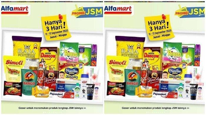 Promo JSM Alfamart 11-13 September 2020