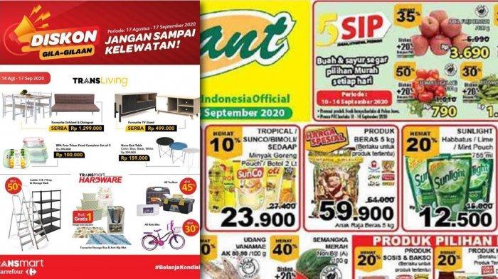 Katalog Promo Giant & Carrefour sampai 17 September 2020