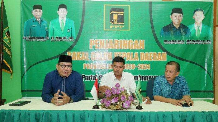 Fachrori Umar Utus Idham Kholid Ambil Formulir PPP