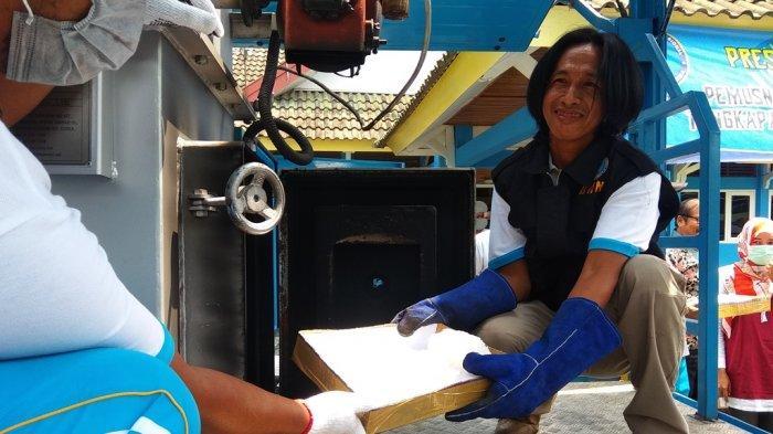 3 Kg Sabu Dimusnahkan Dalam Mesin Pembakar Sampah, BNN Jambi Tangkap Tiga Gembong dari Pekanbaru