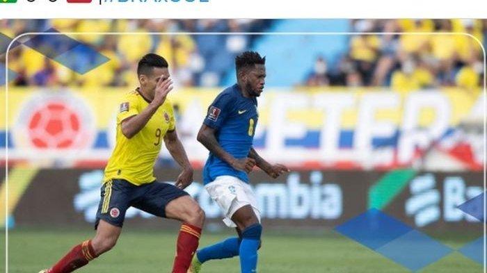 Brasil Ditahan Imbang oleh Kolombia di Kualifikasi Piala Dunia 2022 Zona Amerika Selatan