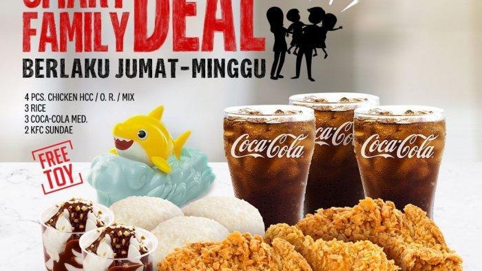 Promo KFC Terbaru November 2020 Gratis KFC Soup atau Perkedel, Colonel Rice Fest, Smart Family Deal