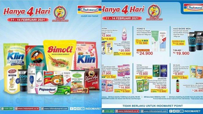 Promo Indomaret dan Alfamart 13 Februari 2021, Diskon Beras Minyak Goreng Mi Instan Susu Diapers DLL