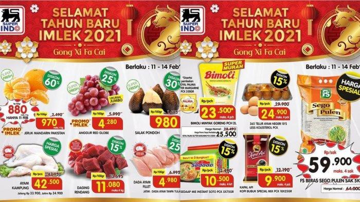 Promo Superindo Spesial Imlek Diskon Hingga 60% Jeruk Mandarin, Minyak, Beras, Sosis, Detergen, Susu