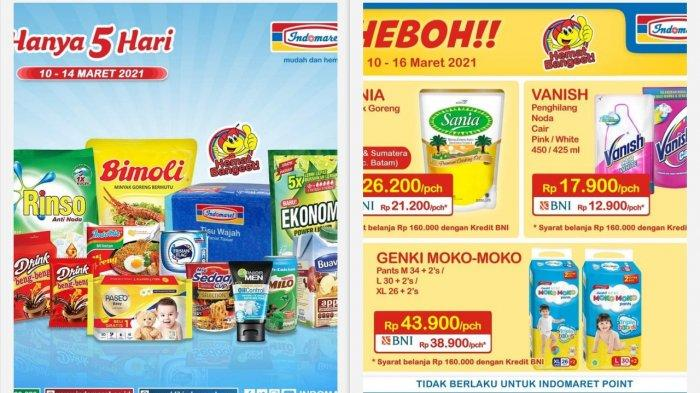 Promo Indomaret Hari Ini 11 Maret 2021 Ada Super Hemat Promo Heboh Product of The Week Promo JSM