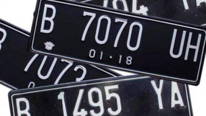 2019, Warna Pelat Nomor Kendaraan Ganti Putih, Ini Tujuannya