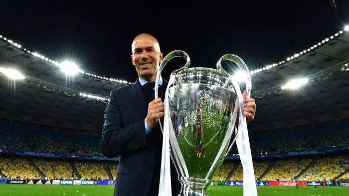 Zinedine Zidane resmi kembali melatih Real Madrid