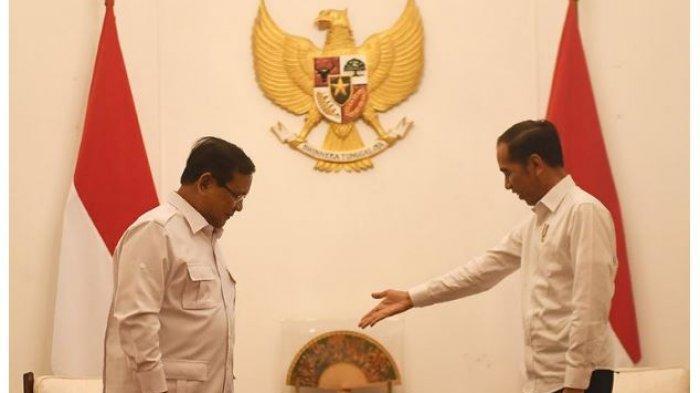 Prabowo dan Presiden Jokowi Bertemu, Bawa Anak Masing-masing, Menhan: Bisa Dikatakan Mesra ya Pak